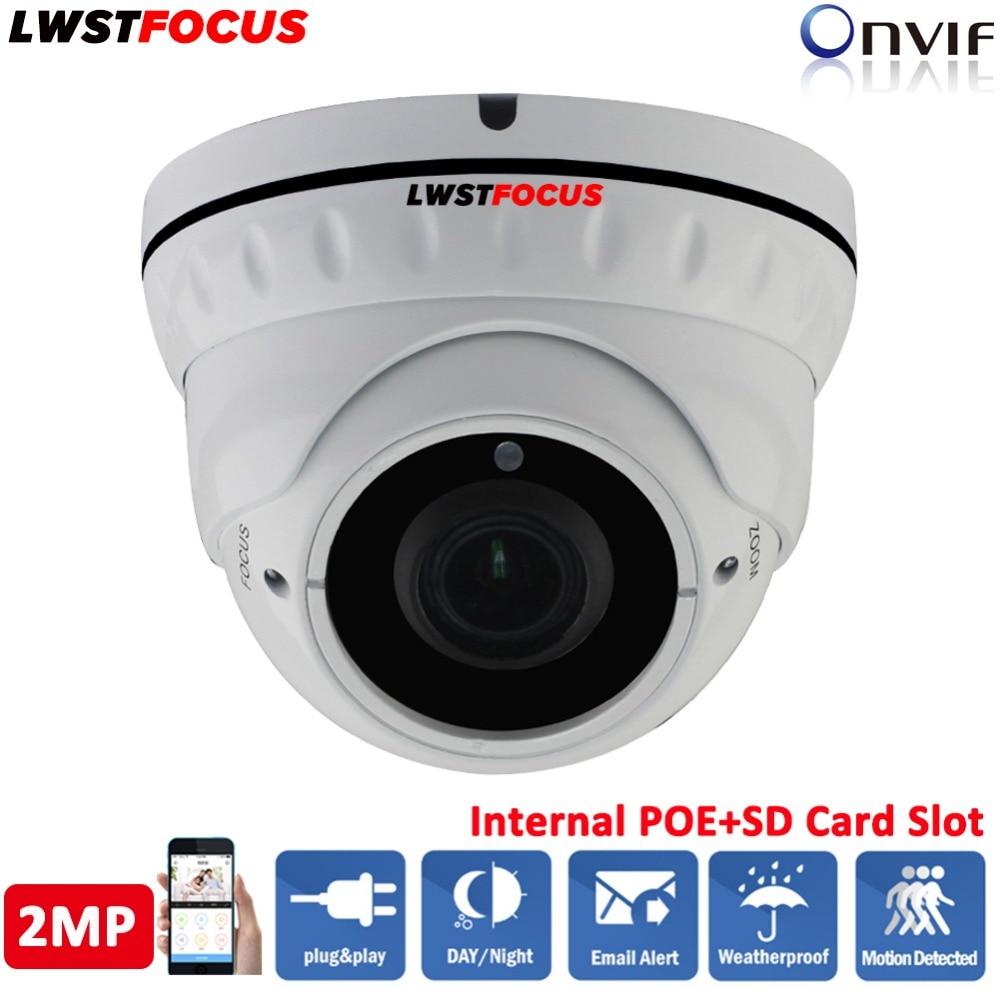 2MP POE IP Camera 1080P ONVIF 2.4 Sony IMX323 Sensor Indoor Outdoor Vandalproof 30M IR 2.8-12MM zoom lens cameras de seguranca 2mp poe ip camera 1080p onvif 2 4 sony imx323 sensor indoor outdoor vandalproof 30m ir 2 8 12mm zoom lens cameras de seguranca
