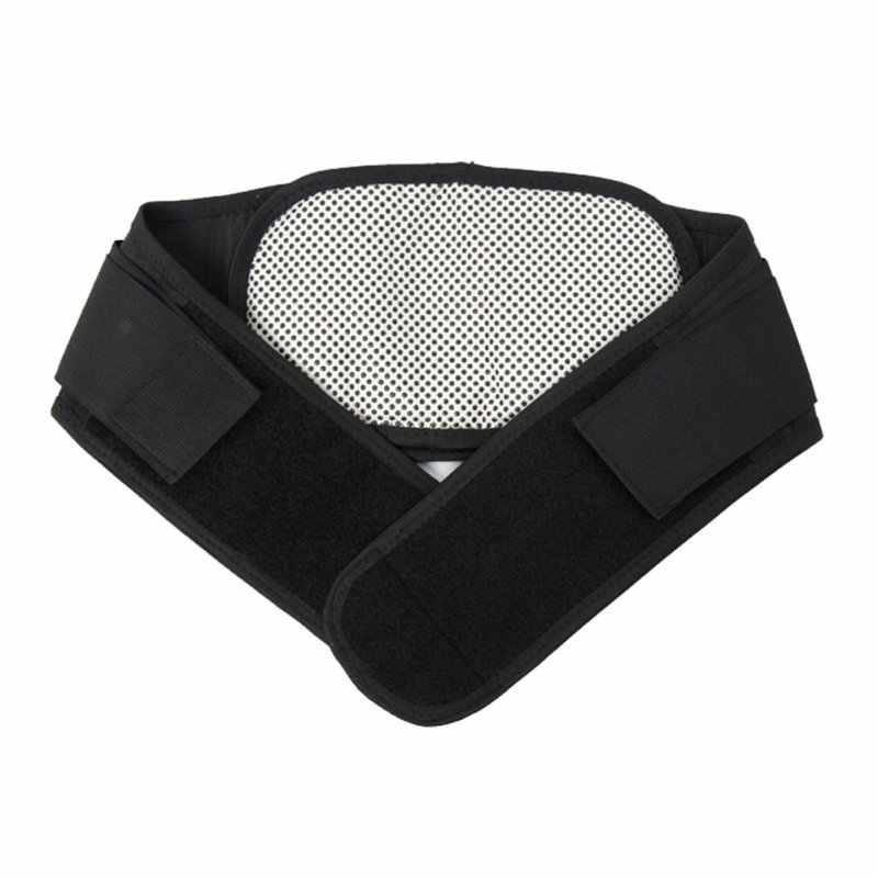 Verstelbare Taille Toermalijn Zelf verwarming Magnetische Therapie Taille Ondersteuning Riem Lumbale Brace Massage Band Gezondheidszorg