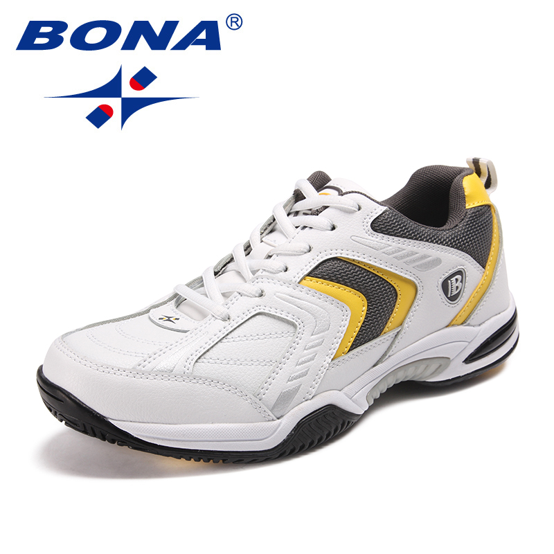 Image 4 - BONA New Classics Style Men Tennis Shoes Lace Up Men Athletic 