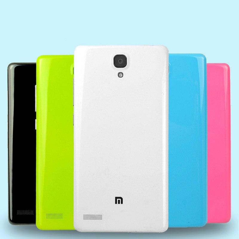 Xiaomi redmi note 1 mobile téléphone couvercle de la batterie 5.5 coloré xiaomi riz rouge note/hongmi note couverture arrière de batterie 4G