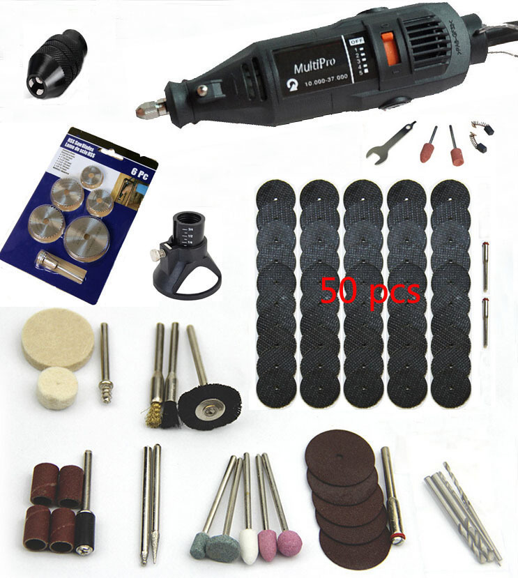 Free Shipping Dremel Hardware Variable Speed Rotary Tool,Mini Drill,with 90 pcs Accessories, Drill  Locator & 6pcs  Saw Blades 8000 30000rpm variable speed dremel rotary tool dremel driller grinder motor with 210pcs accessories free delivery