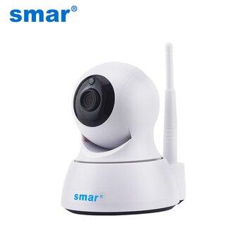 Smar Домашняя безопасность 720P ip-камера Wi-Fi беспроводная сетевая мини-камера наблюдения Wifi ночного видения CCTV камера детский монитор >> smar Official Store