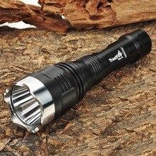 TrustFire 168A-T6 5-Mode 900LM Memory White LED Flashlight w/ Strap