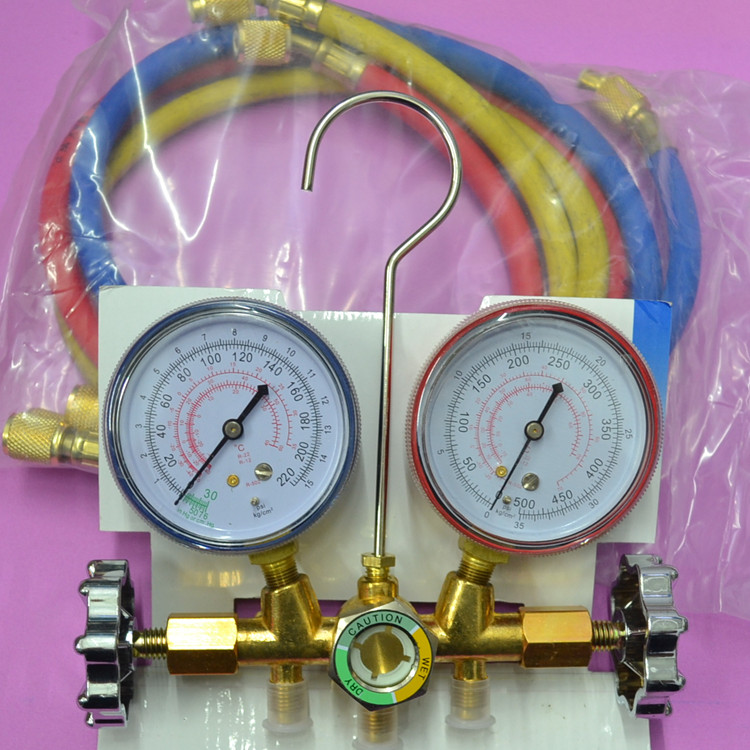 536g r22r12r air conditioning pressure gauge table valve air conditioning accessories 13mm male thread pressure relief valve for air compressor