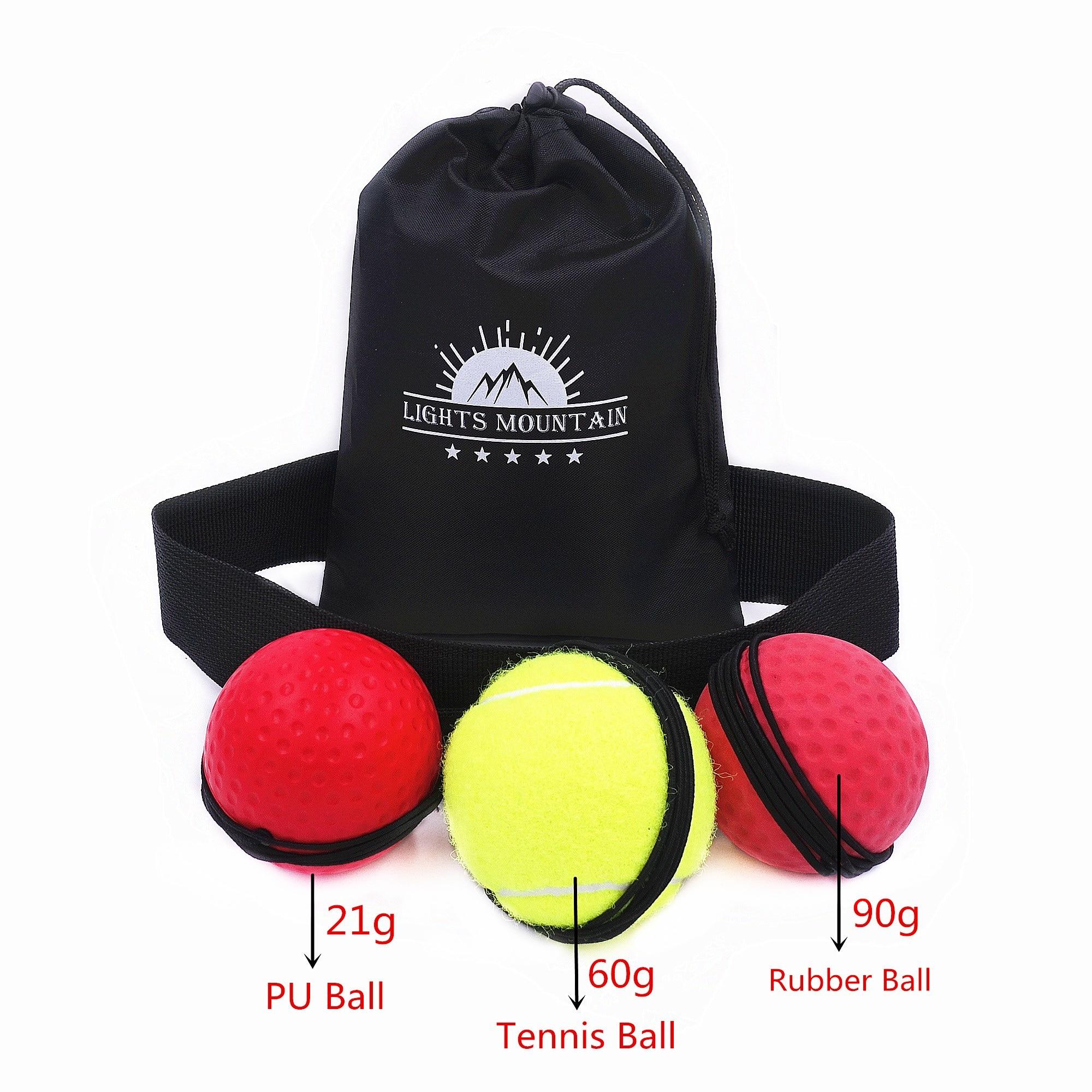 Boxen Reflex Geschwindigkeit Ball für drop verschiffen mit Stirnband MMA Muay Thai Kampf Ball