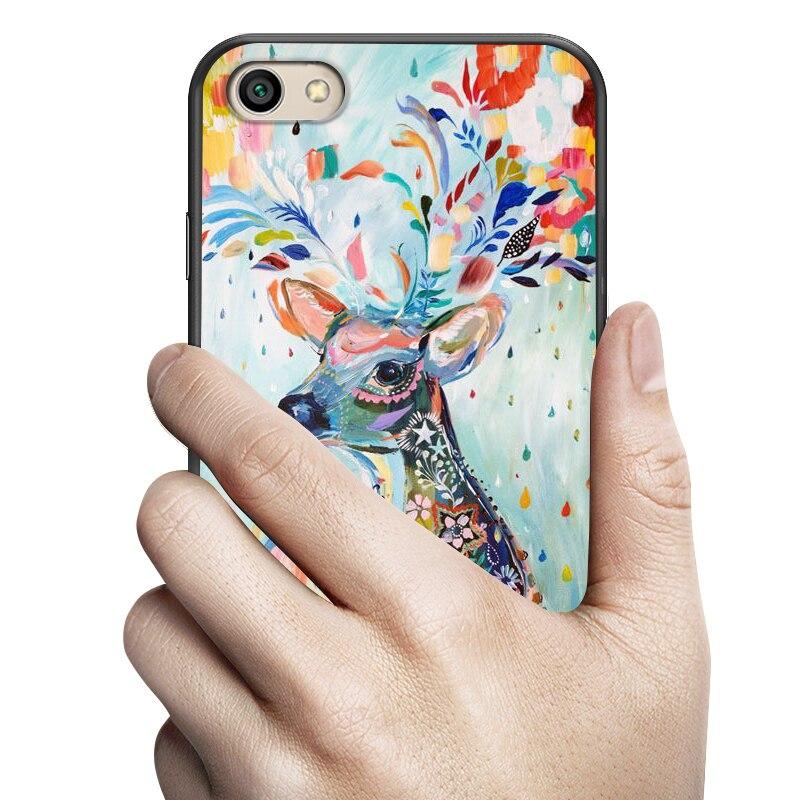 """Fundas для Xiaomi Redmi Note 5A Чехол черный Мультфильм Окрашенные Мягкий силиконовый чехол для Xiaomi Redmi Note 5A 16 г крышка 5,5 """"чехол для телефона"""