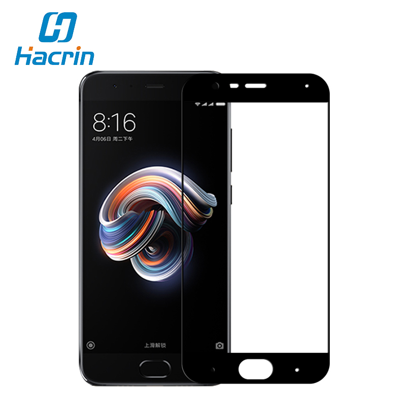 Hacrin For Xiaomi Mi Note 3 Tempered Glass Scrachproof 9H 2.5D Full Cover Screen Protector Film For Xiaomi Mi Note 3 MI Note 2