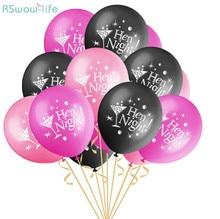 25pcs Hen night Party Balloons Single Hen Party Wedding Venue Arrangement Festival Party Supplies hen s pens