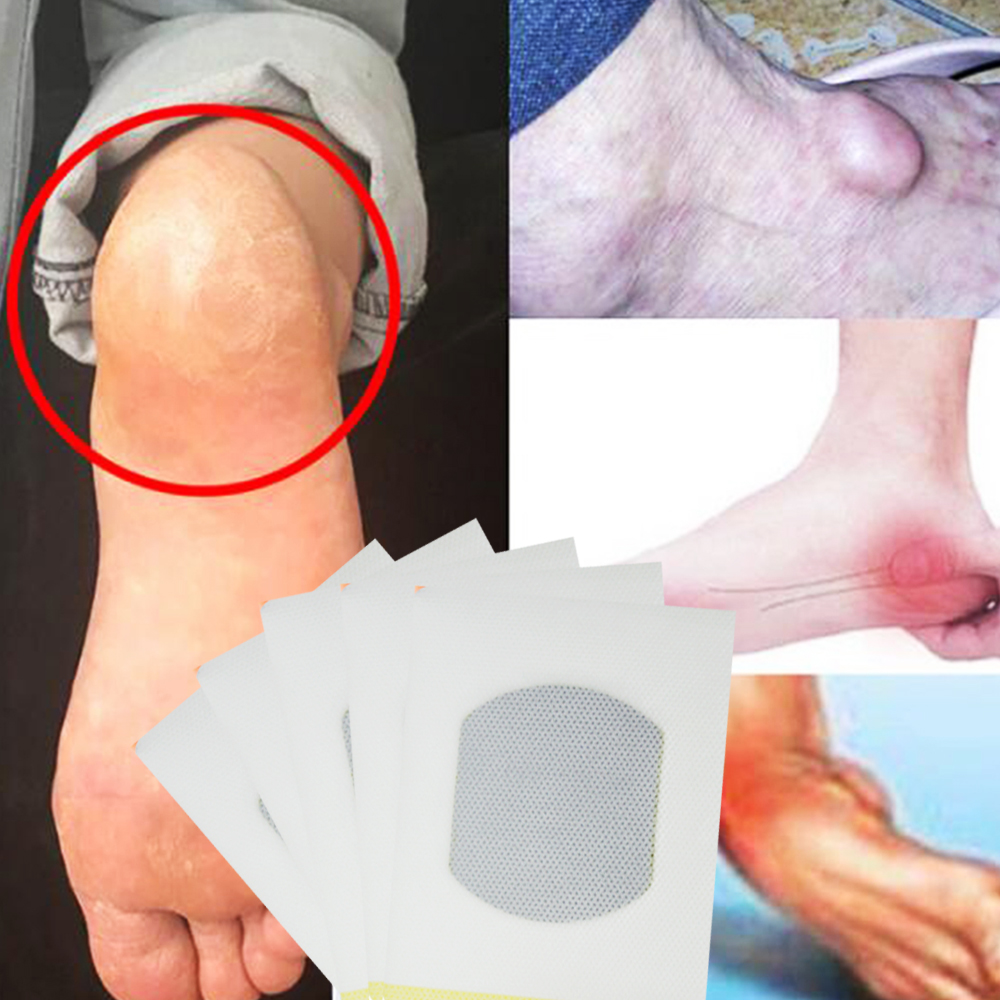 3Pcs Herbal Pain Relief Patch Bone Spurs Achilles Tendonitis Heel Pain Plaster Heel Pain Patch Foot Care Tool Toiletry Kits B115
