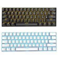 RK61 Wireless Bluetooth Keyboards USB Mechanical Gaming Keyb