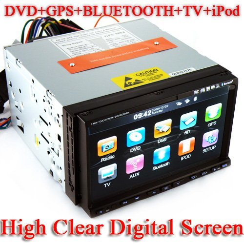 Guarantee100% 7 Inch 2 Din Car DVD Player- PIP-GPS-TV-FM-BT wholesale and resale