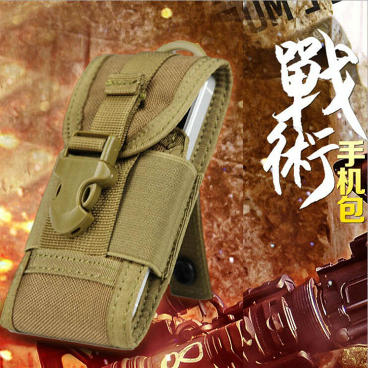 Multifunction Molle Military Trekking Waist Pack Bags Travel Movement Casual Waist Pack Purse 5 inch font