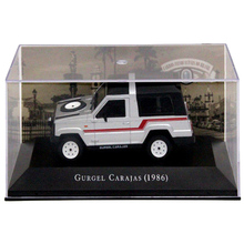 IXO 1:43 Scale Gurgel Carajas 1986 Auto Show Limited Edition Models Cars Collection Toys Diecast auto inn ixo 1 43 gurgel carajas corpo de bombeiros diecast model car