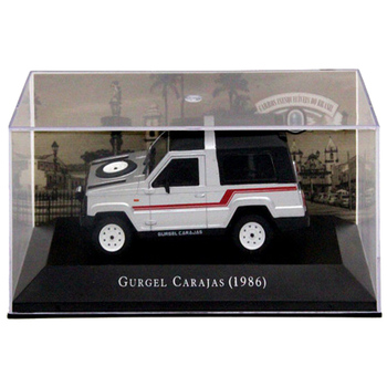 IXO 1:43 Scale Gurgel Carajas 1986 Auto Show Limited Edition Models Cars Collection Toys Diecast image