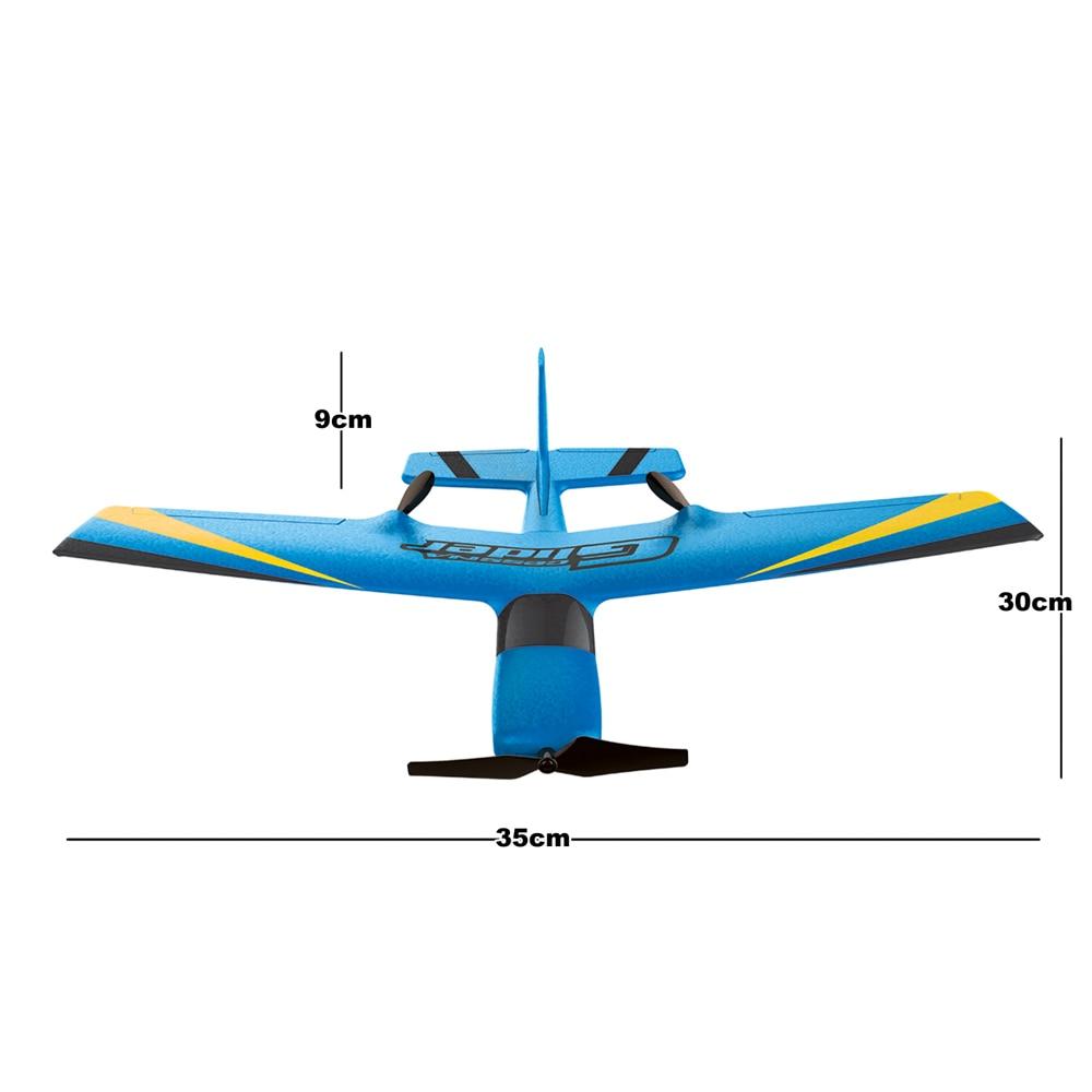 Z50 RC avion EPP mousse planeur avion gyroscope 2.4G 2CH télécommande envergure 25 minutes temps de vol RC avions jouet 5