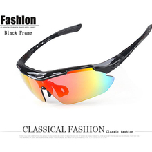 Polarized Cycling Sun Glasses Bike SunglassesGoggles Eyewear 5 Lens Outdoor Sports Bicycle