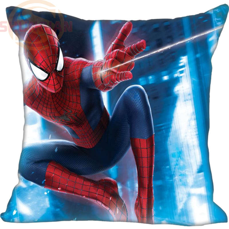 New Nice Spiderman Spider Man Pillowcase Wedding Decorative Pillow Case Customize Gift For Pillow Cover