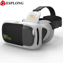 RITECH 3 Plus III Video VR 3D Glasses Virtual Reality Box Headset HD Immersive 3D Helmet Cardboard for 4.7-6 inches Smartphone