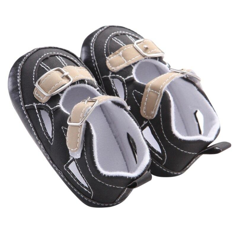 Kids Baby Boys Casual Soft Frosted PU Shoes Infant Toddler Sandal Anti-slip Prewalker