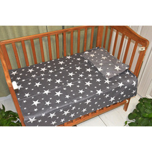 Free shipping New Arrived Hot Ins crib bed linen 2pcs baby Bedding set include pillow case+bed sheet without filling недорого