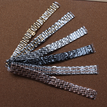 Good quality band Metal Stainless Steel Watchbands Wrist Strap 14mm 16mm 18mm 20mm 22mm Replacement watchband promotion for new