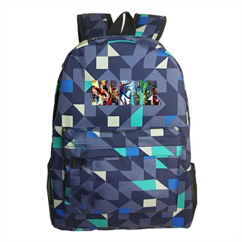 Venom Boys Girls Luminous Backpack School bag Leisure Travel Bag