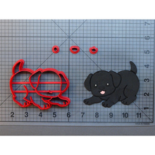 Labrador Puppy Design Cookie Cutter Made 3D Printed Fondant Cupcake Top Cookie Cutter Set Cake Decorating Tools Fondant Cutter animal lion zebra giraffe cookie cutter set custom made 3d printed fondant cupcake top for cake cutter stamp decorating moulds