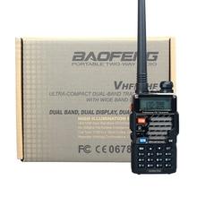 Walkie Talkie Baofeng UV-5RE Plus Dual Band Two Way Radio Pofung UV 5RE FM VOX Dual Display radio comunicador 5W 128CH UHF VHF
