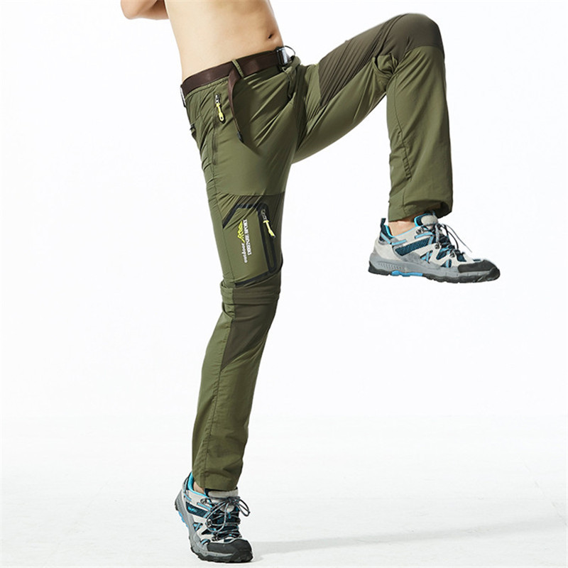 NaranjaSabor Men s Removable Quick Dry Casual Pants Men Thin Trousers Male Army Military Short Cargo NaranjaSabor Men's Removable Quick Dry Casual Pants Men Thin Trousers Male Army Military Short Cargo Pant Men Brand Clothing 5XL