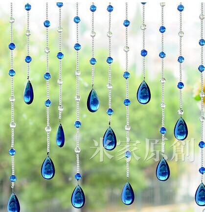 20meters Lot Crystal Glass Beads Strands Door Curtain