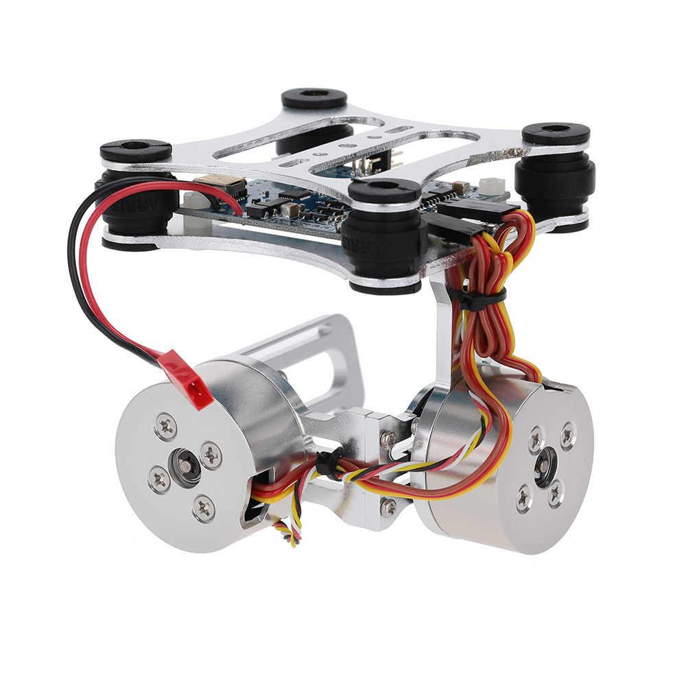 GoolRC 2 Axis Borstelloze Gimbal voor Gopro3 Camera voor Phantom 1 2 Walkera X350 Pro CNC FPV Quadcopter BGC RC accessoires