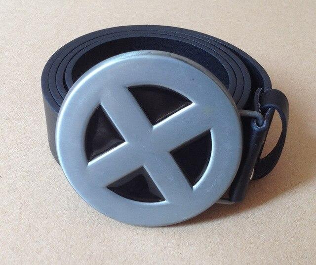 New X Men Superhero Metal X Costume Belt Buckle X Men Metal Belt