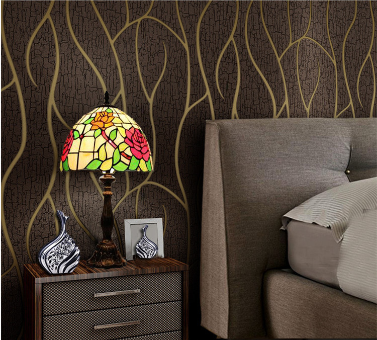 bruin bloemen behang-koop goedkope bruin bloemen behang loten van, Deco ideeën