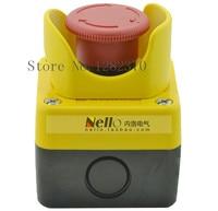[ZOB] [Complete] original Nello emergency stop button box protective seat emergency stop switch boxes XALJ01C 1 NC 5pcs/lot