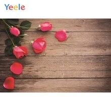 Yeele Wood Photocall Grunge Texture Roses Vintage Photography Backdrops Personalized Photographic Backgrounds For Photo Studio