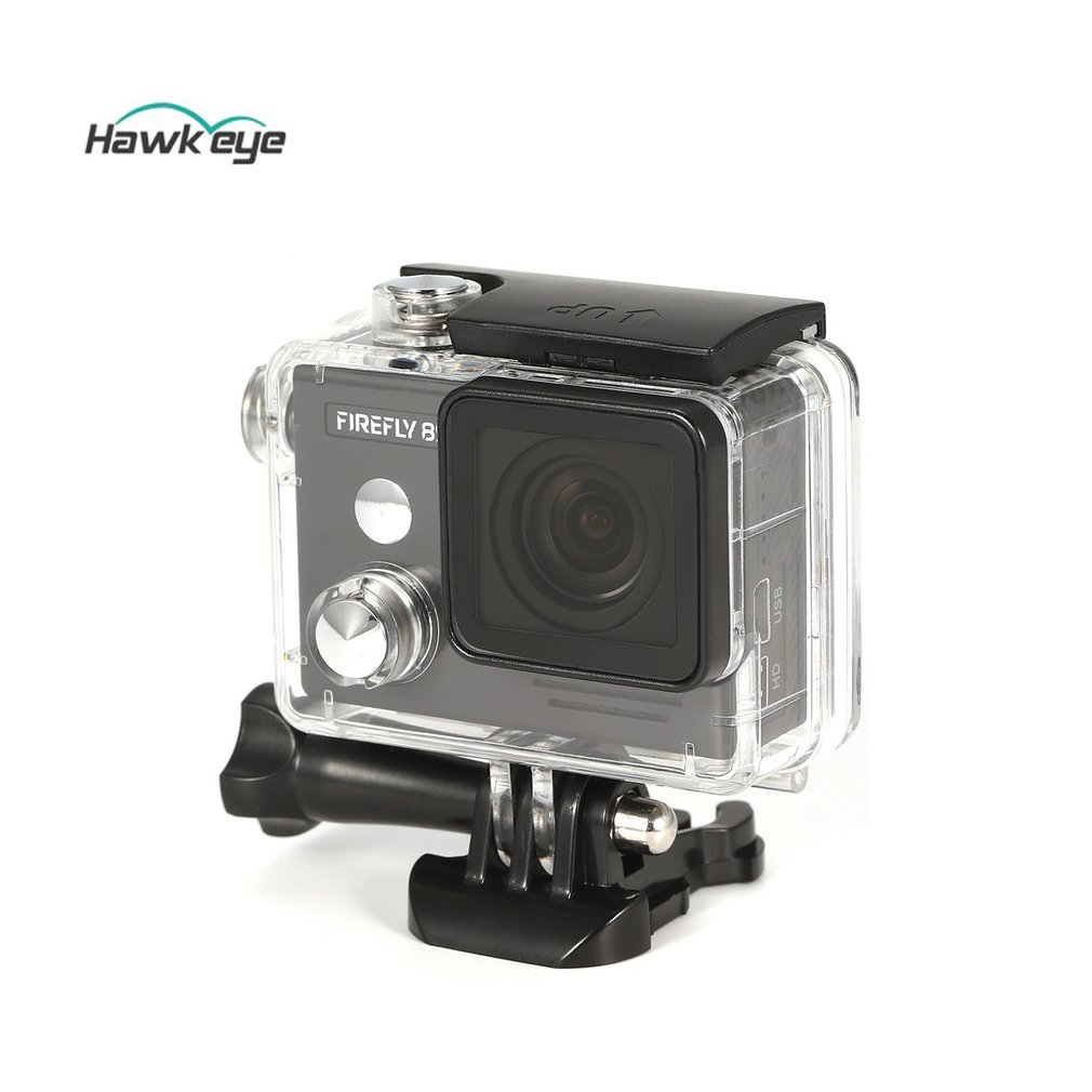 HOT! Hawkeye Firefly 8S 4K 170 Degree Super-View Bluetooth WiFi Camera HD FPV Sport Action Camera Cam for Photography RC Drones firefly q6 hd video camera light camera 4k fpv quadcopter 40g camera uav for rc drones built in gyroscope stabilization