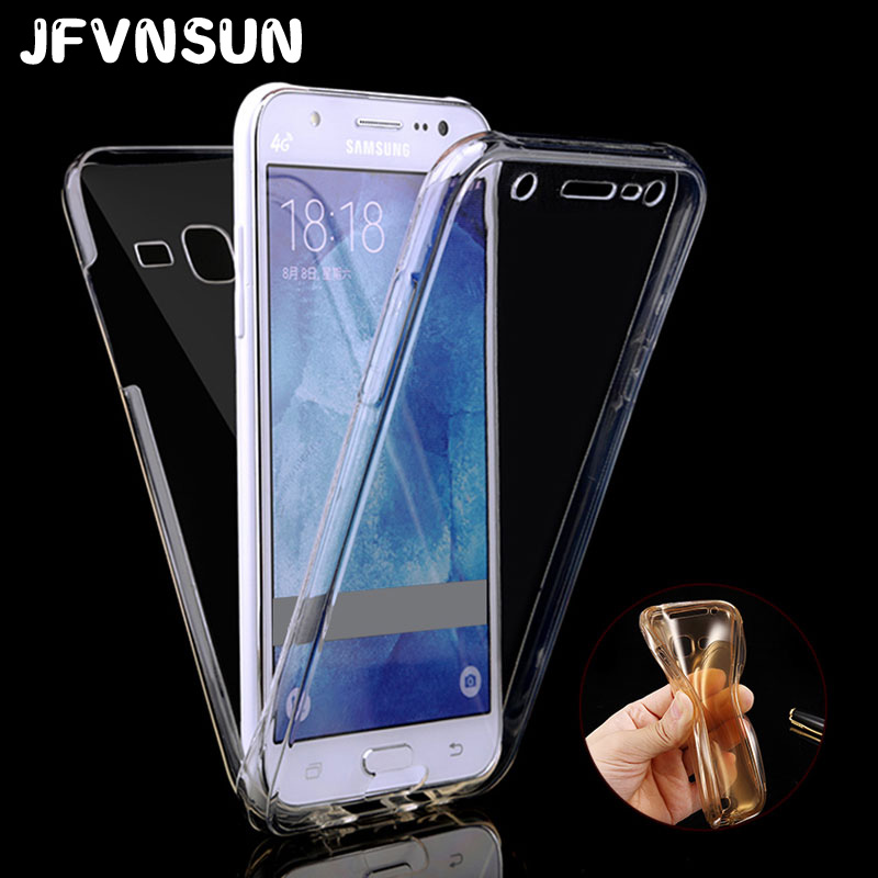 for samsung galaxy j3 samsung j3 2016 j3109 j320 case clear tpu soft silicon 360 full body front. Black Bedroom Furniture Sets. Home Design Ideas