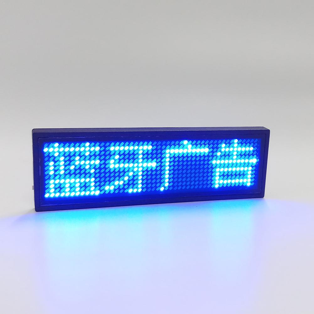 New Arrvials Wireless Mobile APP Bluetooth LED Digital Programmable Glowing Board Letters Scrolling Board