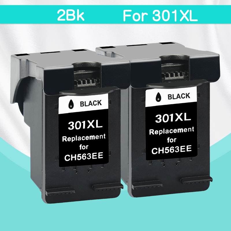 CMYK SUPPLIES 2bk replacement for hp301 hp 301 xl DeskJet Deskjet 1000 1050 1510 2000 2050 2050S 2510 2540 3050a 3054 printer new version ink cartridge for hp301 hp 301 hp301xl deskjet 1050 2050 2050s 3050 2150 3150 d1010 1510 2540 4500 printer