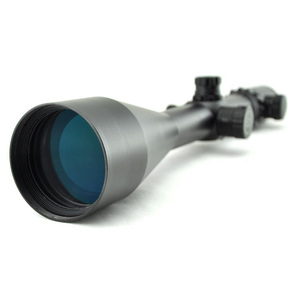 Image 2 - Visionking 4 48x65ED Top Quality Hunting Optical Sights High Shockproof Rifle Scope For .50 With 11mm Mount Rings&Sunshade Hood