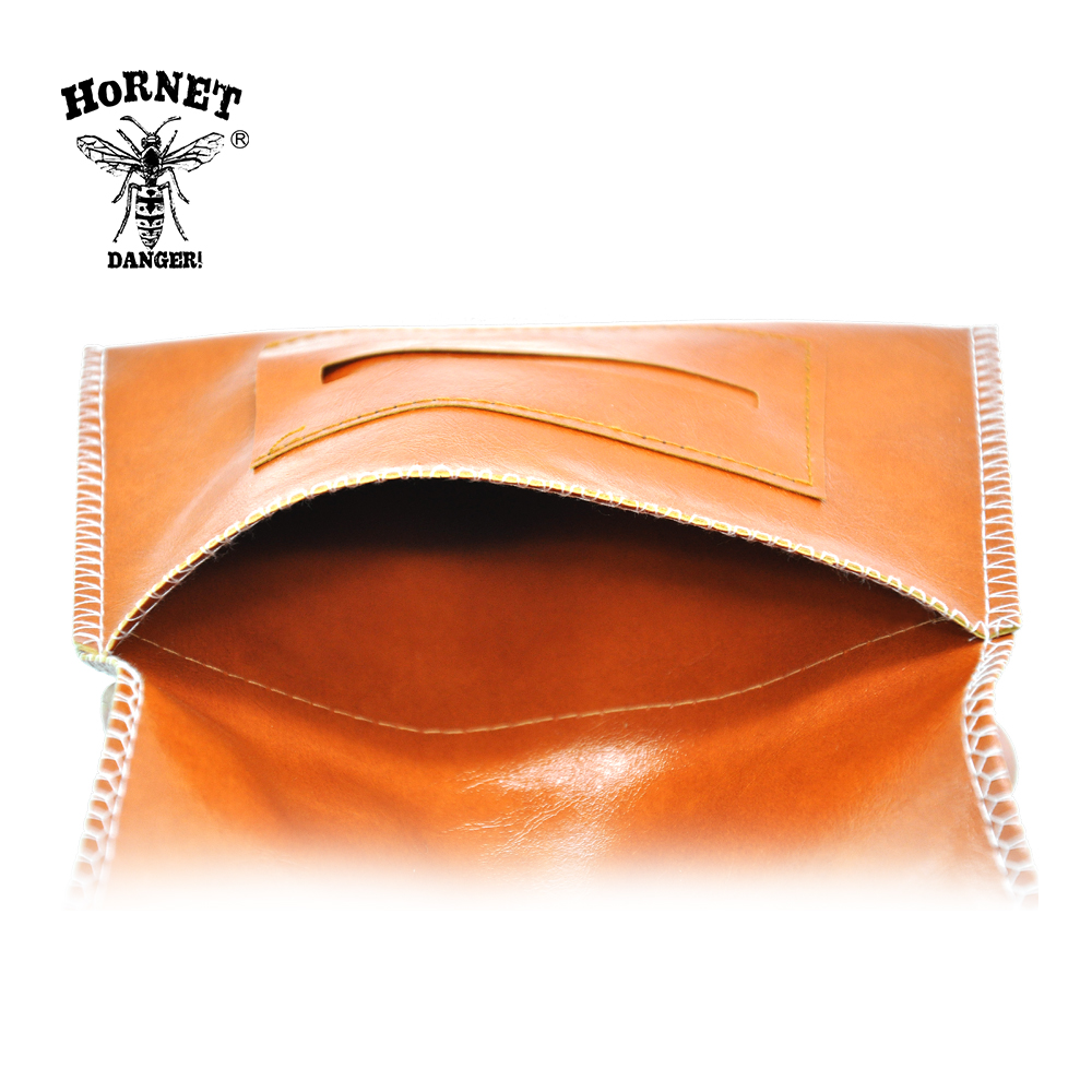 HORNET Leather Tobacco Pouch Portable Cigarette Rolling Pipe Tobacco Bag Case Wallet Tip Paper Holder Smoking Accessories 6