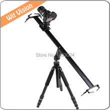 60CM Portable Sliding-pad Video Camera Track Slider Dolly Stabilizer System for DSLR and Camcorders