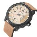 Big dial esportes estilo mens relógios top marca de luxo homens relógio de pulso relógio de quartzo dos esportes da forma do relógio relogios curren assistir 8245