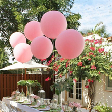 ABDO 5 Pcs 18 Inch Big Large Round Balloons Wedding Decoration Birthday Party Inflatable Helium Latex Baloons Arch