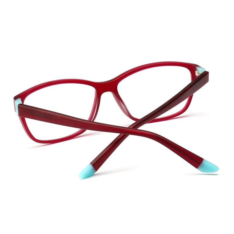 03a9a87381 Acetate women prescription glasses vintage sight myopia computer  transparent optical colored clear reading eyeglasses  BC3515-in Prescription  Glasses from ...