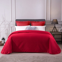 Size Can Be Customized High Quality Comfortable Egyptian Cotton Red Gray Pink Beige Thick Blanket Bedspread Bed Cover Bed Sheet цена и фото