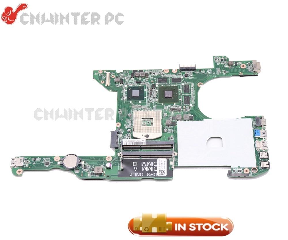 NOKOTION For Dell Inspiron 14R 5420 Laptop Motherboard HM77 GT630M 1GB CN-0HMGWR 0HMGWR DA0R08MB6E2 DA0V08MB6E4