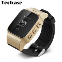 D99 Smartwatch For Old People Android Watch Phone GPS Tracker The Eged Digital Watch SOS Wearable