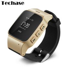 D99 Smartwatch For Old People Android Watch Phone GPS Tracker The Eged Relogios SOS Wearable Devices SIM Card Smart Health Watch