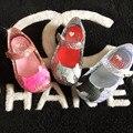 Mini melissa sapatos 2016 sandálias meninas sandálias bonitos dos desenhos animados para crianças meninas sapatos de verão para a menina sapatas dos miúdos bonitos abacaxi